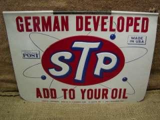 Vintage 1962 STP Oil Studebaker Sign  Antique Old Auto Car Truck
