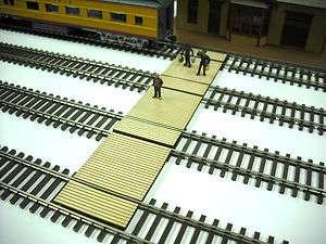 HO Scale ** Laser Cut ** Custom Timber Baggage & Passenger Crossing