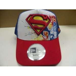NewEra Marvel Comic Superman rucker Snapback Cap Spors & Oudoors