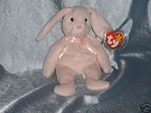 1996 Ty Beanie Baby Hoppity Rabbit Born April 3 ,1996