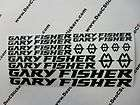 16 Set GARY FISHER Bikes Decals Stickers Bicycles 15Z