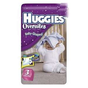 Huggies Overnites Diapers Jumbo Pack Size 3 31ct