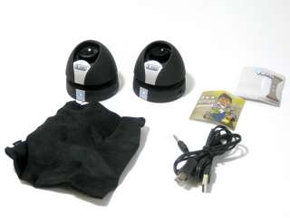 Mini MAX II Capsule Twin Speaker BLACK For Blackberry