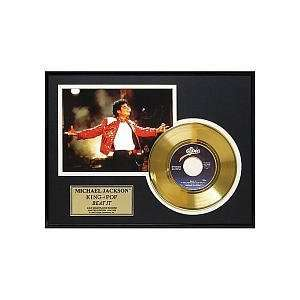 Michael Jackson Beat It Framed Gold Record Toys & Games