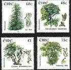 Ireland Irish miniature sheet Native Trees 2006