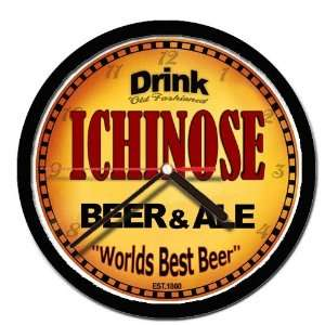 ICHINOSE beer and ale cerveza wall clock: Everything Else