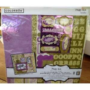 Colorbok Imagine Page Kit Home & Kitchen