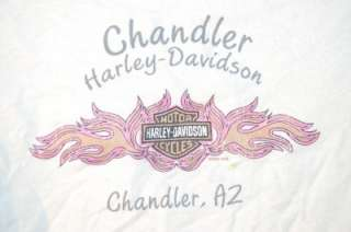 Harley Davidson Shirt Womens CUTE Medium Top Chandler AZ