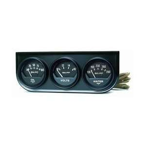 Auto Meter 2348 2IN BLACK MECH.GAUGE PNL Automotive