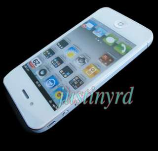 White Fake Dummy Model Display Phone for iPhone 4 4G