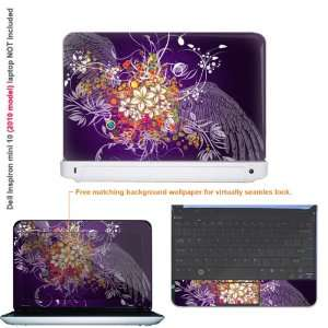 Protective decal sticker for Dell Inspiron 1012 case cover 10mini10 69