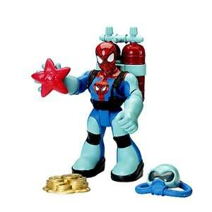 and Friends Ocean Adventure Spider Man 6 Action Figure Toys & Games