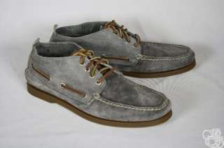 Authentic Original Chukka Dark Gray Suede Mens Boots Shoes New