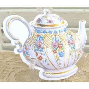 6 Carol Wilson Mailable Enclosure Cards China Tea Pot