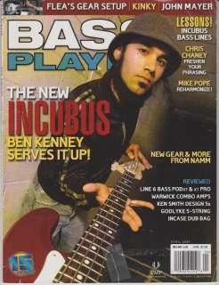 Player Magazine (April 2004) Incubus Ben Kenney / John Mayer