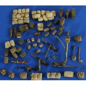 35 Stowage Cargo & Acc. for M151 Mutt War Wagon Vietnam Toys & Games
