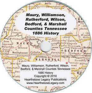 WILSON COUNTY, TENNESSEE History Genealogy LEBANON, TN