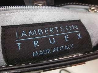 LAMBERTSON TRUEX Black Leather Mini Shoulderbag Handbag