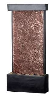 Kenroy Home Falling Water Wall/Table Fountain Oil Rubbed Bronze Finish