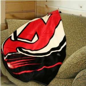 New Jersey Devils 50x60 Puck Super Plush Throw