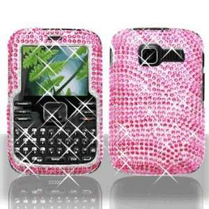 Premium   Kyocera S2300/Torino Full Diamond Hot Pink/Pink Zebra Cover