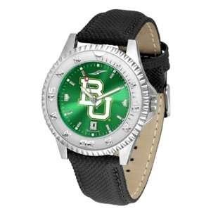Baylor University Bears Mens Leather Wristwatch Sports
