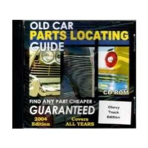 CHEVROLET GMC TRUCKS Parts Locating Guide Catalog CD