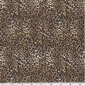 45 Wide Wild Animal Print Cheetah Fabric By The Yard