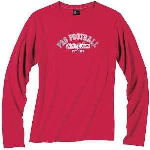 Pro Football Hall of Fame Womens Long Sleeve T Shirt XX