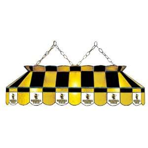 Tech Yellow Jackets 40 Stained Glass Billiard Table Light Sports