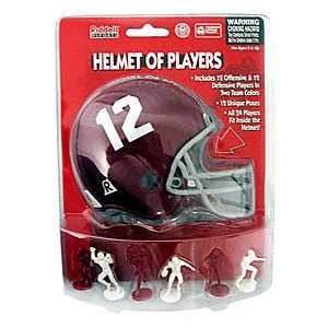 Alabama Crimson Tide Helmet of Players