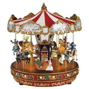 Mr. Christmas Animated Worlds Fair Musical The Carousel