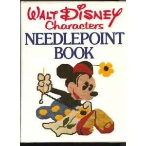 WALT DISNEY CHARACTERS NEEDLEPOINT BOOK Books