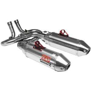 YOSHIMURA RS 2D FULL SYSTEM DUAL EXHAUST   STAINLESS STEEL Automotive