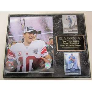 New York Giants Eli Manning Super Bowl MVP 2 Card