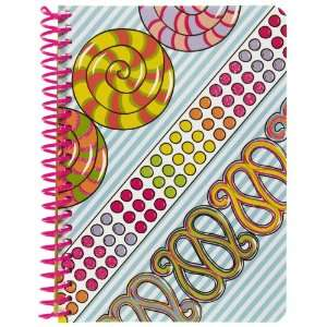 com Girls Only Personal Wirebound Notebook, 100 Sheets, College Rule