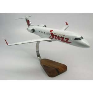 CRJ 200 Air Canada Jazz Wood Model Airplane Big
