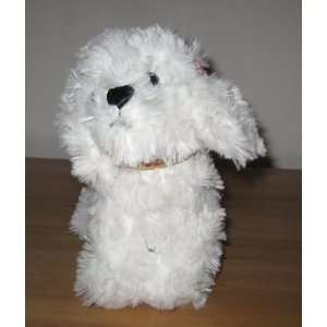 Russ Berrie White Dog Plush Animal