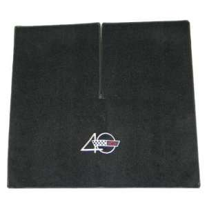 1993 Red Corvette Coupe Cargo Mat with 40th Anniversary