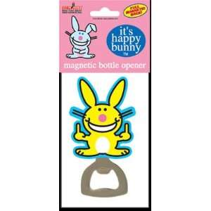 : Happy Bunny Fingers Magnetic Bottle Opener HBO15: Kitchen & Dining