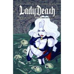 Lady Death #3 Auxiliary: Books