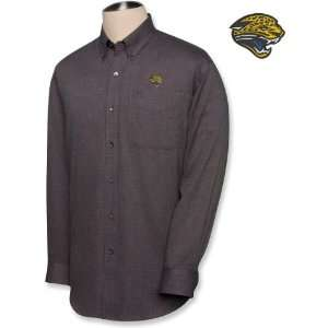 Cutter & Buck Jacksonville Jaguars Mens Nailshead Long Sleeve Shirt