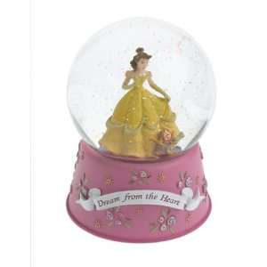 Beauty and The Beasts Belle 6 Musical Snow Globe