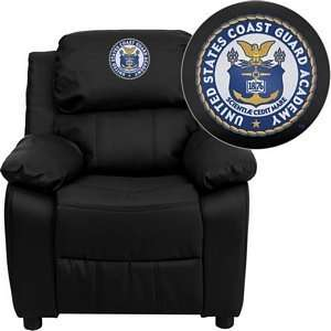 United States Coast Guard Academy Embroidered Black