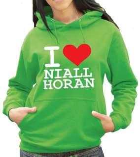 Love Niall Horan Hoody   X Factor 1 Direction (1136)