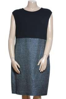 NEW Anne Klein Knit Woven Combo Dress Sz 18W $129