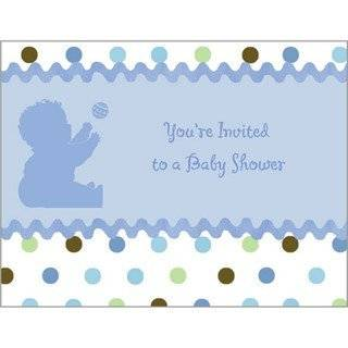 12 Onsie Baby Shower Invitations   Baby Shower Invitation