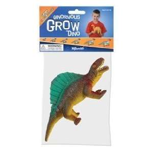 BIG FUN SET OF 4   GINORMOUS GROW DINO (Four assorted