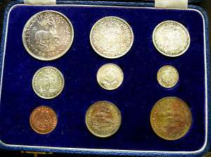 1955 SOUTH AFRICA PROOF SET CASED
