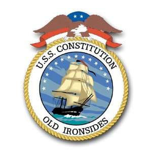 US Navy Ship USS Constitution Old Ironsides Decal Sticker